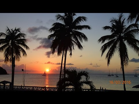 Rodney Bay, St. Lucia 2016 - Videos from my Phanton 2 vision plus.