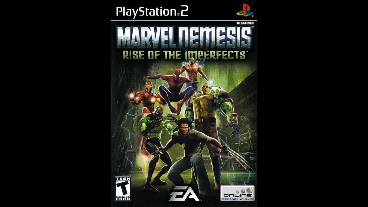 Dante Rants: Insert Coin: Marvel Nemesis Rise Of The ...  |Marvel Nemesis Johnny Ohm