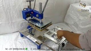Manual Blister Packing Machine - 6 Cavity | Scrub Blister Packing Machine