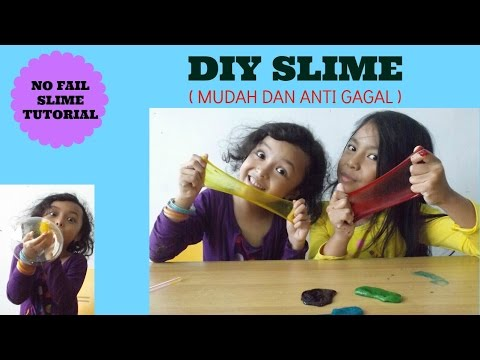 CARA MEMBUAT SLIME BALON MUDAH DAN ANTI GAGAL | BAHASA |HOW TO MAKE BALLOON SLIME EASY NO FAIL