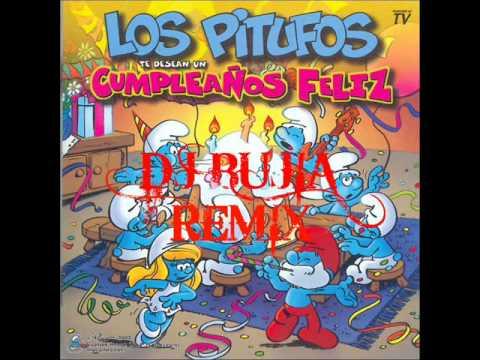 Cumpleanos Feliz Parchis Remix.Dj Bujia Los Pitufos Cumpleanos Feliz House Remix