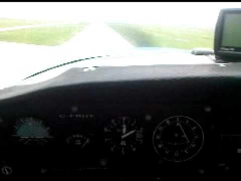Landing RWY06L at (CYHU) St-hubert