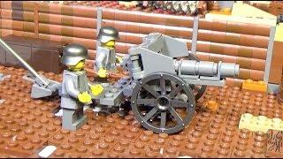 ЛЕГО Военная Академия #32, Первая мировая война, полевая пушка Германии 7.7 cm FK 96 n.A.
