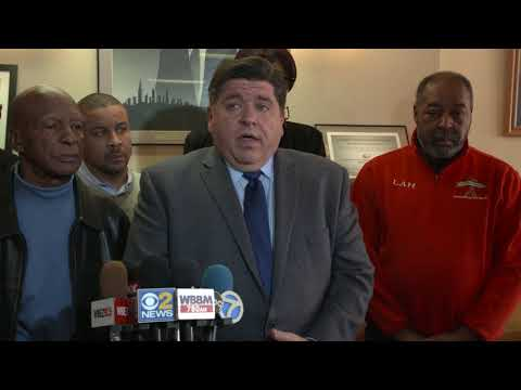 Ill. Gov. candidate J.B. Pritzker with Black leaders on Blagojevich tapes