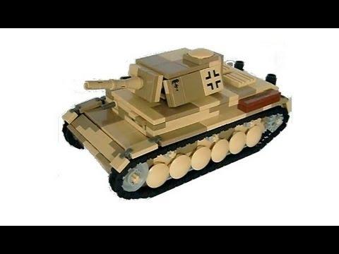 351f17a095a01 Lego ww2 review -Panzer III Ausf. E Desert Camo- - YouTube