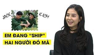 Thiên An tiết lộ mối quan hệ đặc biệt hiện tại với Jack và K-ICM