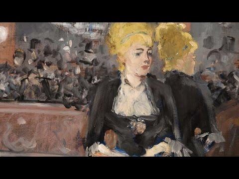 Edouard Manet's 'Le Bar Aux Folies-Bergère'