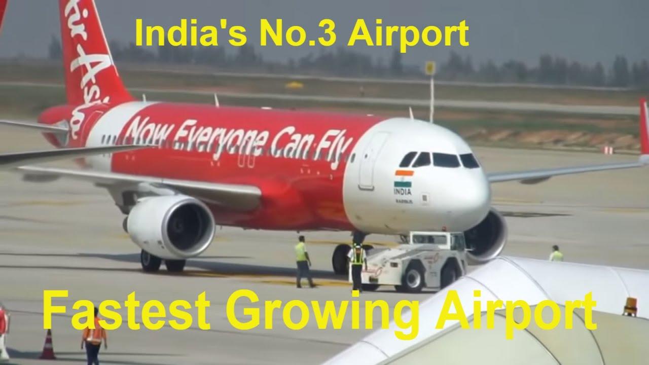 Bengaluru Kempegowda International Airport Airside Actions Pushback  Takeoffs Arrivals
