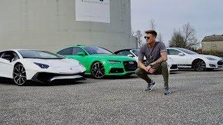 RS7 vs Lambo vs Porsche vs Tesla | Ksfreakwhatelse | Dragrace!