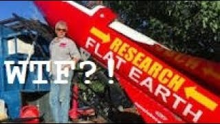 Flat Earther is going to launch himself in a rocket WTF