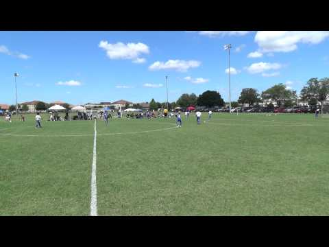 MAITLAND LIGHTNING (6) vs. (5) FLORIDA KRAZE MADRID - U10 - 1st Half
