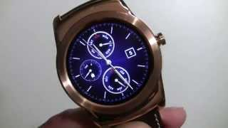 Android Wear 5.1.1 walkthrough on the LG Watch Urbane