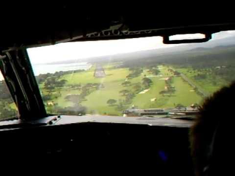 Landing in Apia