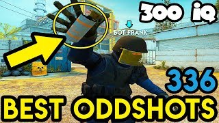 BOT FRANK is ON 300 IQ MISSION - CS:GO BEST ODDSHOTS #336