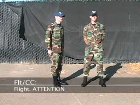 when does a soldier assume parade rest