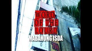 #WordOfTheLourd | MABAHONG ISDA