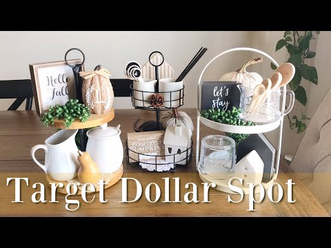Target Tiered Trays Styling all 3 for Fall