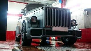Постройка пикапа стилизованного под ГАЗ-51 5.7 литра (АКПП) 254 л.с.