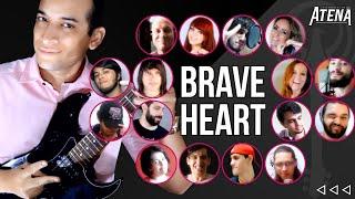 Cover images Digimon Adventure - Brave Heart (Guitarrista de Atena feat. YTMBR) #CrisnelConvida Especial de Natal