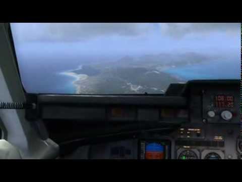 QualityWings RJ100 FSX - Corfu Landing