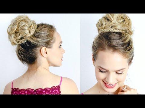 Red Carpet Inspired High Updo - Hair Tutorial - 동영상