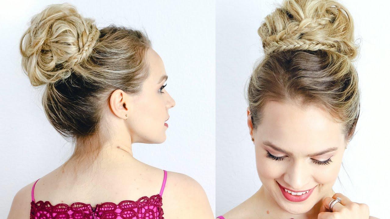 red carpet inspired high updo - hair tutorial