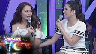 ggv are doble kara stars julia montes and maxene magalona friends in real life