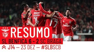 HIGHLIGHTS: SL Benfica 6-2 SC Braga