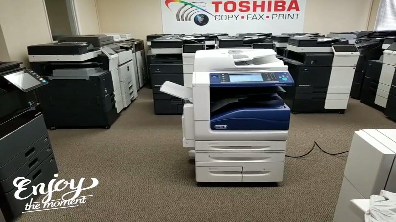 Xerox Workcentre 7855 Youtube