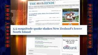 NEW ZEALAND Dangerous 5.5 EARTHQUAKE... May 12, 2012... Prediction