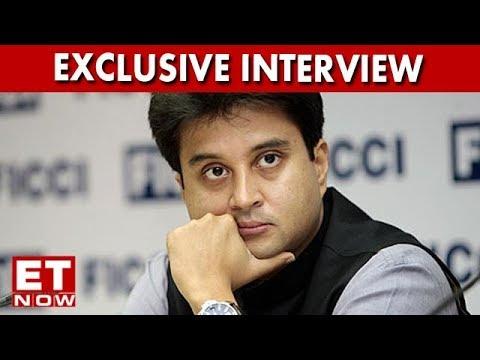 Jyotiraditya Scindia on Rahul Gandhi's Elevation As Congress Party President   ET NOW Exclusive