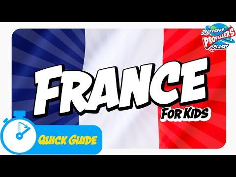 Junior Jetsetters France Facts For Kids