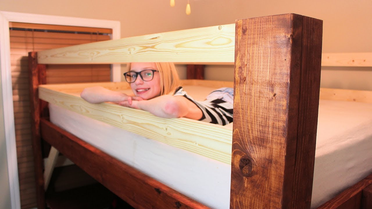 Queen Loft Bed With Desk For A Small Bedroom Youtube