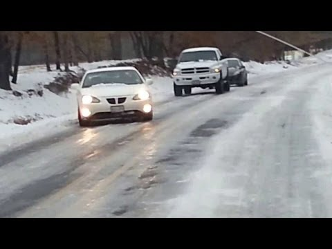 Ice And Snow Car Crash Compilation #33 - Black Ice !