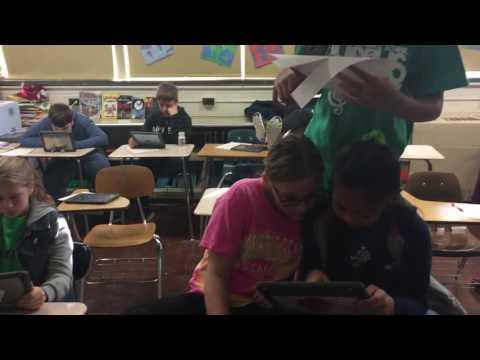 My class doing the mahican challenge
