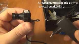 Беспроводная скрытая камера видеонаблюдения(, 2015-10-07T21:57:19.000Z)