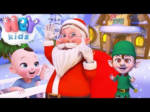 HeyKids – Papa Noel  Musique de Noel pour enfants  HeyKids Franais – Cantece pentru copii in limba franceza