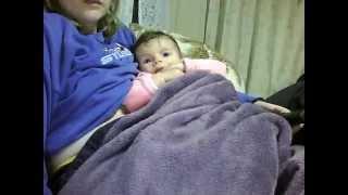 Emilly matando a saudade da tia via videolog part I