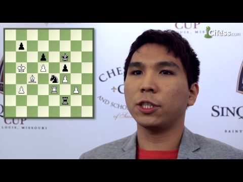 Wesley So On His Game With Alexander Grischuk At The 2015 Sinquefield Cup
