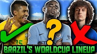 BRAZIL'S World Cup Predicted Lineup & Squad! How Will Brazil Lineup At FIFA World Cup 2018 ft Neymar