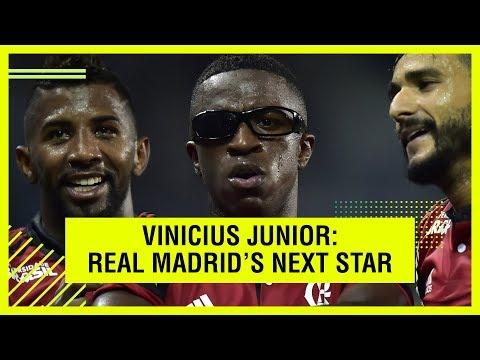 VINICIUS JUNIOR - REAL MADRID'S NEXT SUPERSTAR