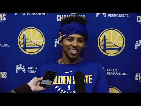 Nick Young Post-Practice Interview | November 6, 2017 | 2017-18 NBA Season