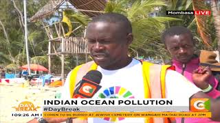 Indian Ocean pollution affecting sea animals