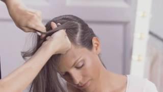 Видеоурок красоты: коса-диадема