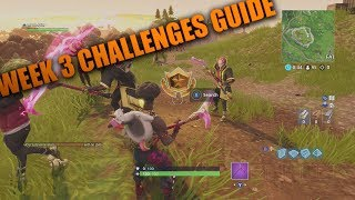 Fortnite Week 3 Challenges All Locations! Fortnite Battle Royale Update All Clay Pigeons and Chests!