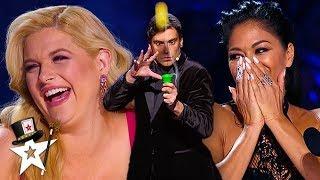 Judges CAN'T STOP Laughing At Funny Magician | Magicians Got Talent