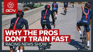 How Fast Do Pro Cyclists Ride In Training? + Dumoulin Retires | GCN Racing News Show
