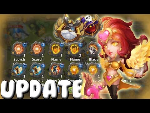 Castle Clash Update Review! Opening 10x Pack! 1.2.82