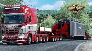 ✅ ETS2 - HUGE 96 Ton Siemens Trafo Trailer