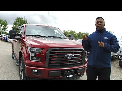 2017 ford f 150 special edition lariat full video tour. Black Bedroom Furniture Sets. Home Design Ideas